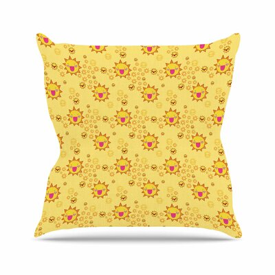 Its All Sunshine Jane Smith Throw Pillow