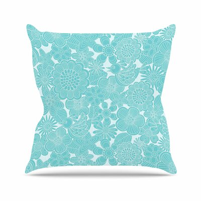 Birds Julia Grifol Throw Pillow