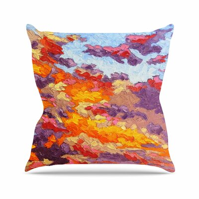 Evening Sky Jeff Ferst Throw Pillow