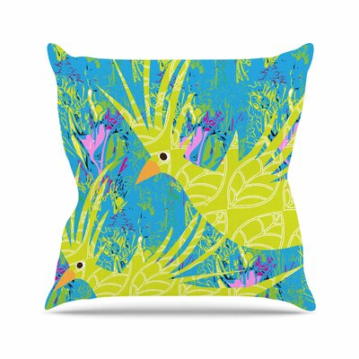 Tropical Fly - By Pattern Muse Throw Pillow