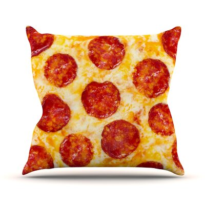 Pizza My Heart Throw Pillow