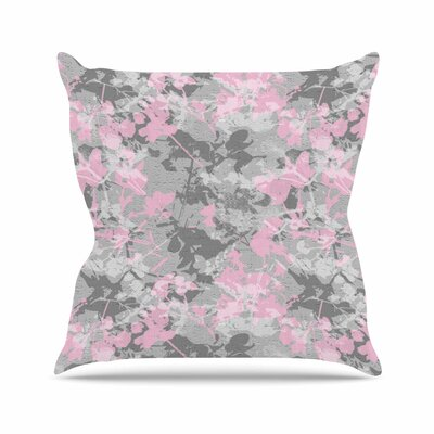 Blissed Carolyn Greifeld Throw Pillow Size: 18 H x 18 W x 4 D