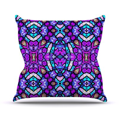 Kaleidoscope Dream Continued Art Love Passion Throw Pillow