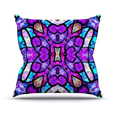 Kaleidoscope Dream Art Love Passion Throw Pillow