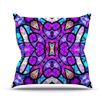 Kaleidoscope Dream Art Love Passion Throw Pillow