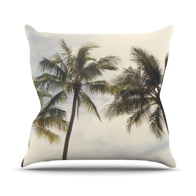 Boho Palms Catherine McDonald Throw Pillow