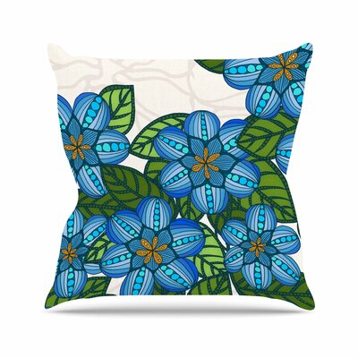 Flower Field Art Love Passion Throw Pillow