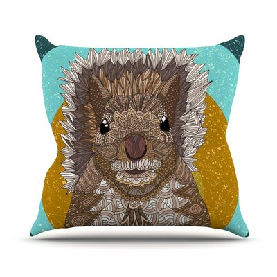 Squirrel Art Love Passion Throw Pillow