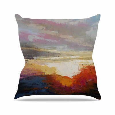 Georgia Morning by Carol Schiff Throw Pillow Size: 16 H x 16 W x 3 D