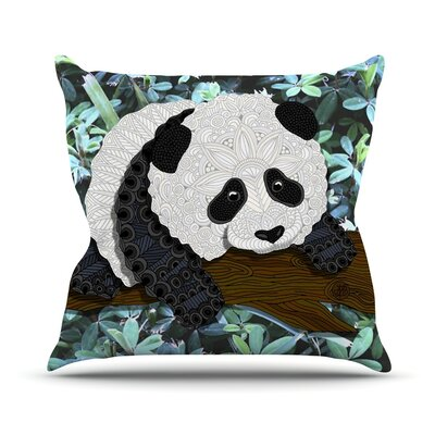 Panda Art Love Passion Throw Pillow
