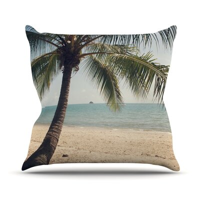 Tropic of Capricorn by Catherine McDonald Throw Pillow Size: 16 H x 16 W x 3 D