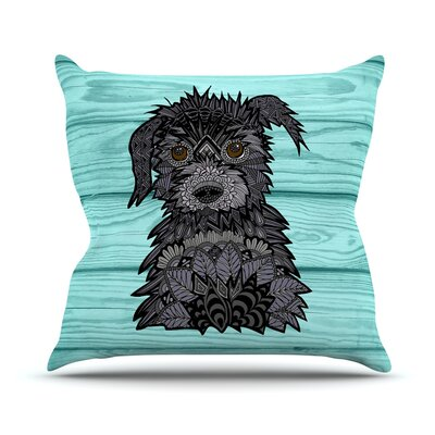 Little Miss Daisy Art Love Passion Throw Pillow