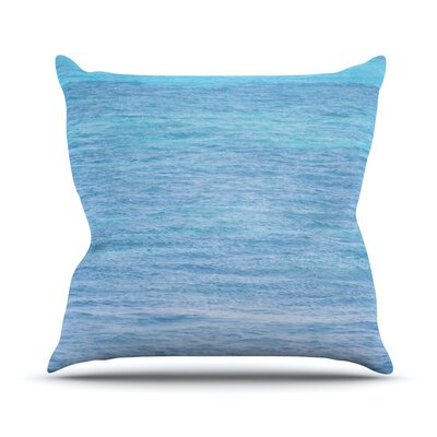 South Pacific II by Catherine McDonald Throw Pillow Size: 26 H x 26 W x 5 D