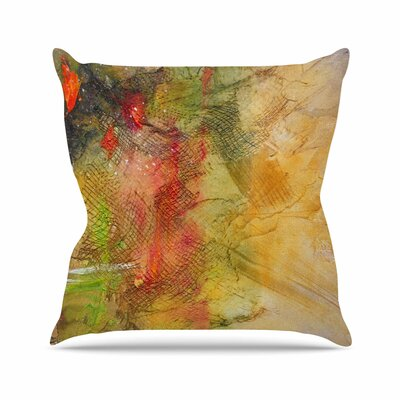 Poppyfield by Carol Schiff Throw Pillow Size: 16 H x 16 W x 3 D