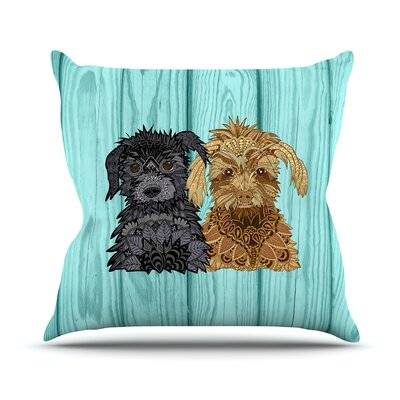 Daisy and Gatsby Art Love Passion Throw Pillow