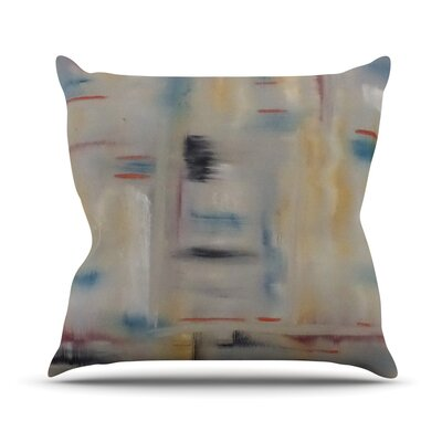 Library by Cathy Rodgers Throw Pillow Size: 26 H x 26 W x 5 D