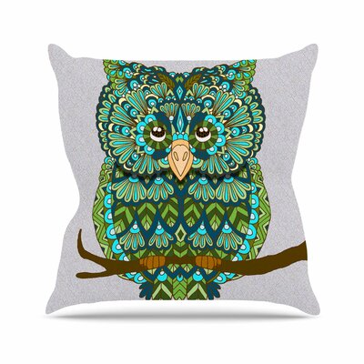 Great Owl Art Love Passion Throw Pillow