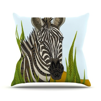 Zebra Art Love Passion Throw Pillow