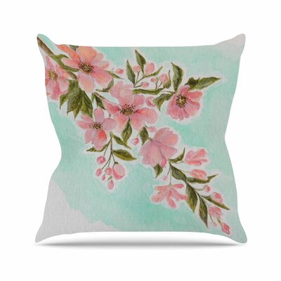 Chieko by Christen Treat Throw Pillow Size: 18 H x 18 W x 3 D