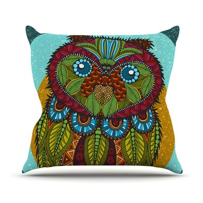Owl Art Love Passion Throw Pillow