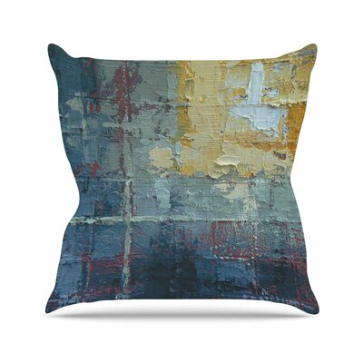 Indecision by Carol Schiff Throw Pillow Size: 16 H x 16 W x 3 D