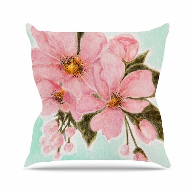 Fumiko by Christen Treat Throw Pillow Size: 26 H x 26 W x 5 D