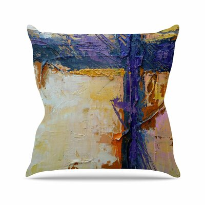 Royal Colors by Carol Schiff Throw Pillow Size: 18 H x 18 W x 3 D
