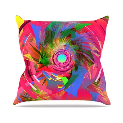 Fun Hole by Danny Ivan Throw Pillow Size: 16 H x 16 W x 3 D