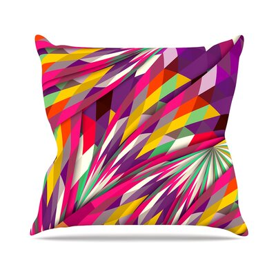 Sweet by Danny Ivan Throw Pillow Size: 18 H x 18 W x 3 D