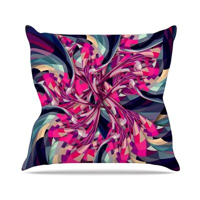 Spiral by Danny Ivan Throw Pillow Size: 16 H x 16 W x 3 D