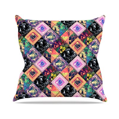 Never Run Away by Danny Ivan Throw Pillow Size: 18 H x 18 W x 3 D