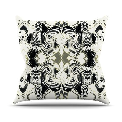 The Palace Walls III by Dawid Roc Throw Pillow Size: 18 H x 18 W x 3 D