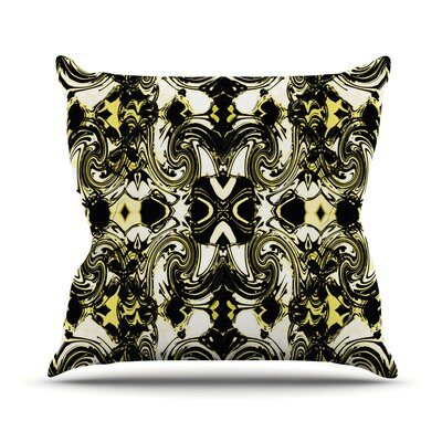 The Palace Walls II by Dawid Roc Throw Pillow Size: 26 H x 26 W x 5 D