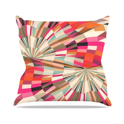Convoke by Danny Ivan Throw Pillow Size: 18 H x 18 W x 3 D