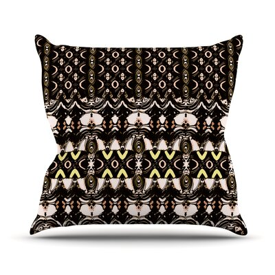 The Palace Walls by Dawid Roc Throw Pillow Size: 18 H x 18 W x 3 D
