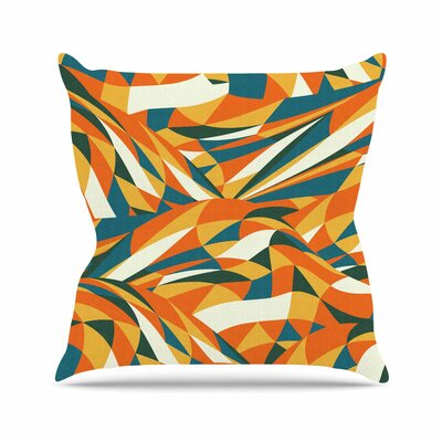 Astro Naive by Danny Ivan Throw Pillow Size: 18 H x 18 W x 3 D