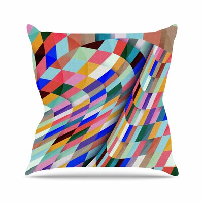 Different by Danny Ivan Throw Pillow Size: 16 H x 16 W x 3 D