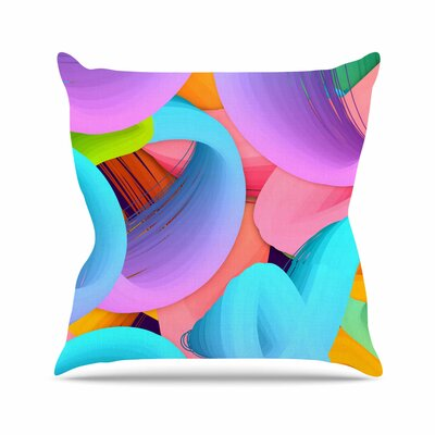 Funny by Danny Ivan Throw Pillow Size: 26 H x 26 W x 5 D