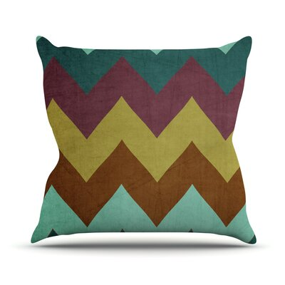 Mountain High by Catherine McDonald Outdoor Throw Pillow