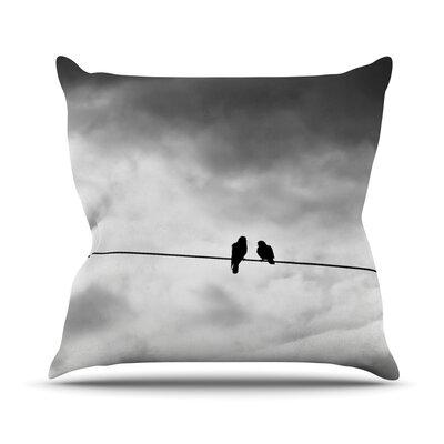 Friendship by Debbra Obertanec Outdoor Throw Pillow