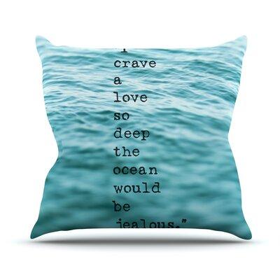 Crave Love Outdoor Throw Pillow