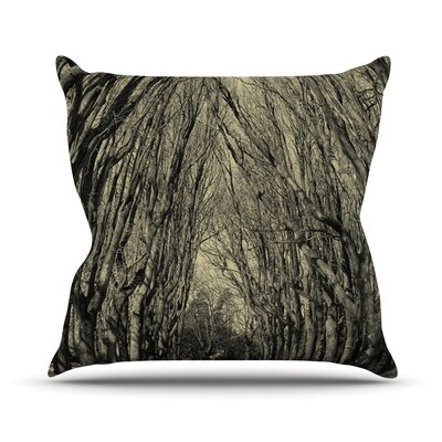 Where Trees Still Whisper Outdoor Throw Pillow