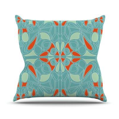Seafoam by Miranda Mol Outdoor Throw Pillow