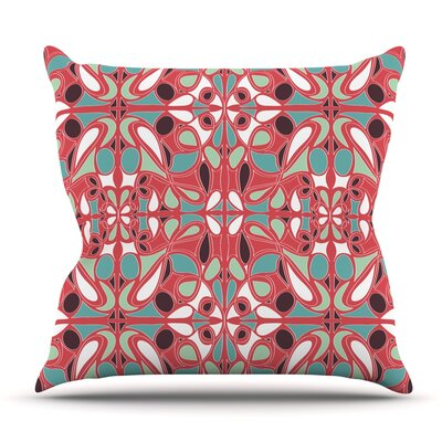 Stained Glass by Miranda Mol Outdoor Throw Pillow