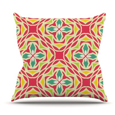 Christmas Carnival by Miranda Mol Outdoor Throw Pillow