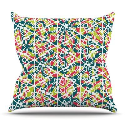 Cool Yule by Miranda Mol Outdoor Throw Pillow