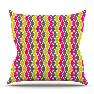 Bohemian by Nandita Singh Outdoor Throw Pillow