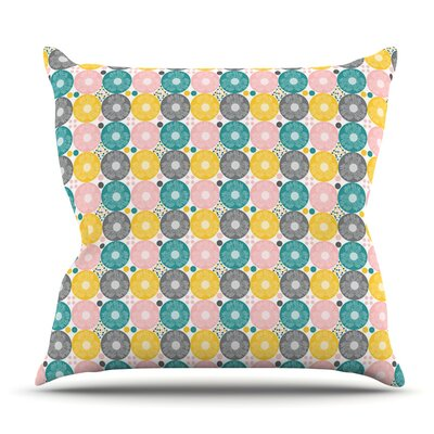 Christmas Celebration by Nandita Singh Outdoor Throw Pillow