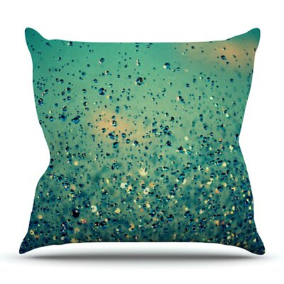 Lullaby, Close Your Eyes by Robin Dickinson Outdoor Throw Pillow