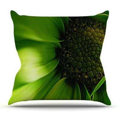 Flower by Robin Dickinson Outdoor Throw Pillow